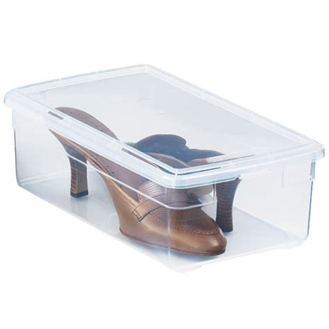 container store shoe storage pil the container store s shoe boxes and a giveaway
