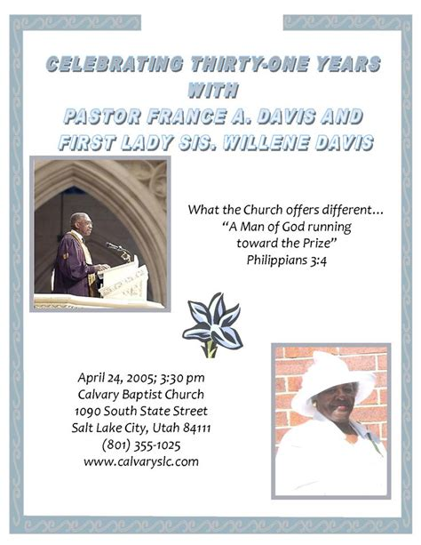 Dially Invited Church Anniversary  Ee  Sample Ee