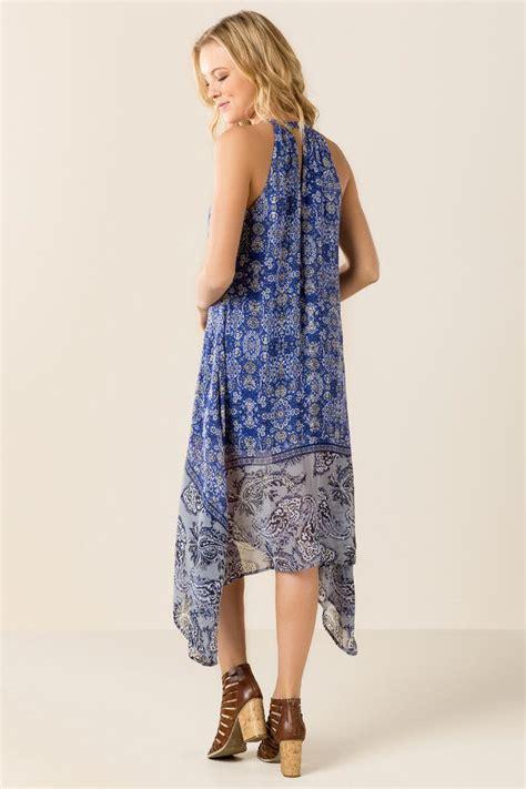Andrea Maxy Dress by Blue Andrea Printed Maxi Dress S