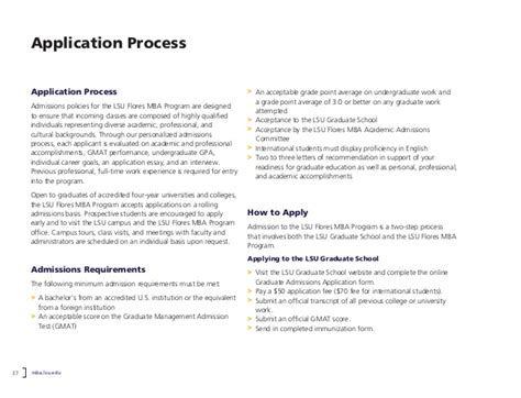 Lsu Freshman Application Process Executive Mba And Professional Mba At Louisiana State