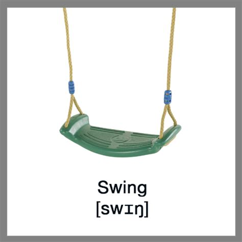go go swing learn english vocabulary children