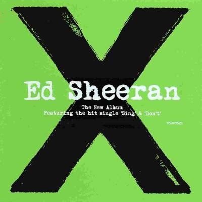 ed sheeran x album cover freecovers net ed sheeran x 2014