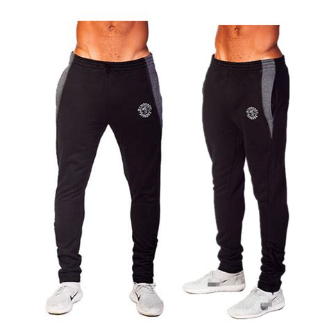 mens gym shark brand men casual sport training pants mens