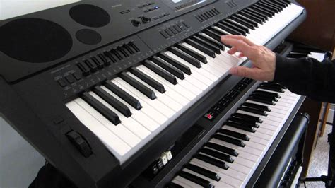 Keyboard Yamaha Organ Tunggal roland vr 700 drawbar organ vs casio wk 7500 drawbar organ