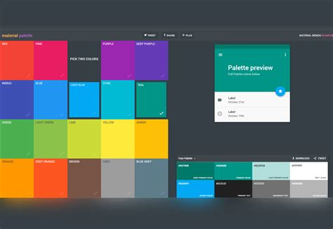 color palettes generator 50 fresh resources for designers november 2015