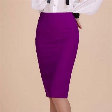 2017 fashion summer high waist pencil skirt