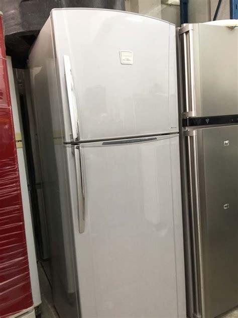 Freezer Toshiba Second toshiba fridge refrigerator peti ais sejuk 2 pintu