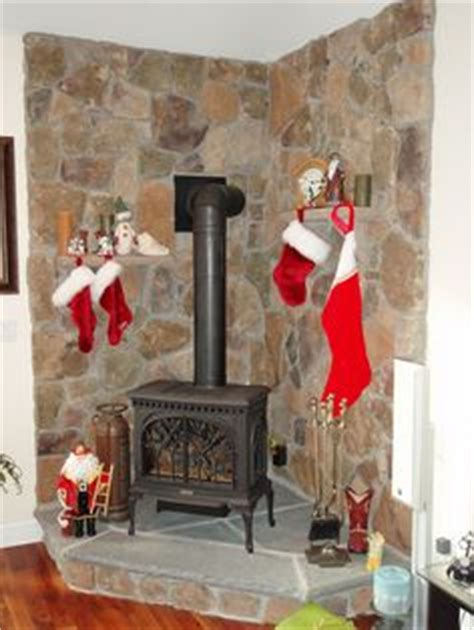Caddy Corner Fireplace by Caddy Cornered Free Standing Gas Stove With Cultured
