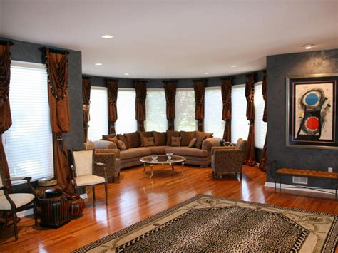 Leopard Living Room by Photos Hgtv