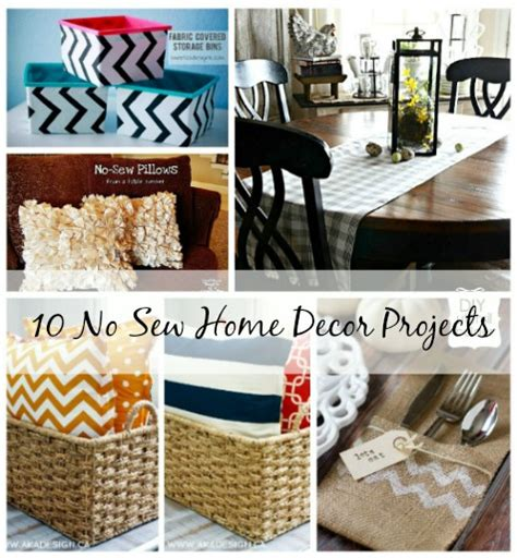 sew home decor 10 no sew home decor projects a cultivated nest