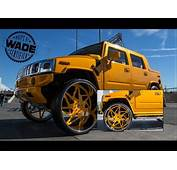 Download Video SEMA 2014  Hummer On 34 Inch Forgiato Wheels