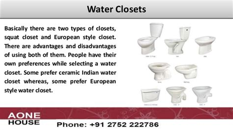 Different Types Of Water Closets by High Quality Sanitary Ware Water Closets