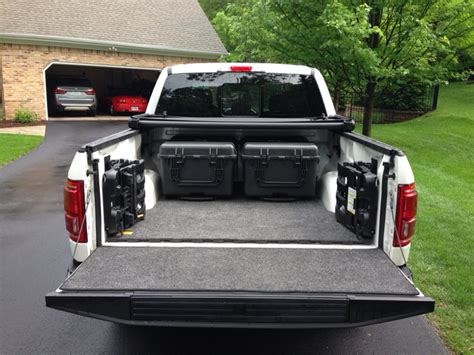 Pickup Bed Liner Bed Storage Solution Ford F150 Forum Community Of Ford