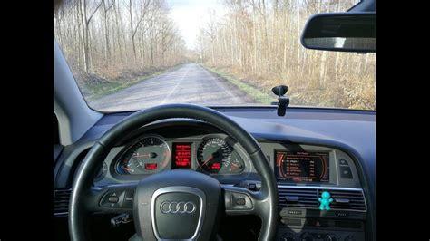 Audi A6 Acceleration by Audi A6 3 0 Tdi V6 Quattro 4f 220hp Driving Shots