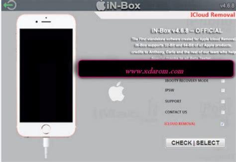 box  iphone icloud lock remove  ios unlock