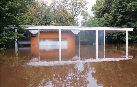 farnsworth house flooded architect magazine
