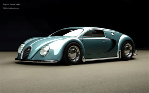 The Bugatti Veyron Render Bugatti Veyron Beetle Edition Gtspirit
