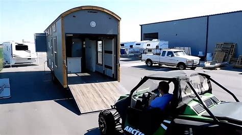 tiny house talk storage garage tiny house hauler rv a tiny house on wheels with a