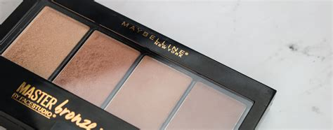 Maybelline Master Bronze review of maybelline master bronze palette hub