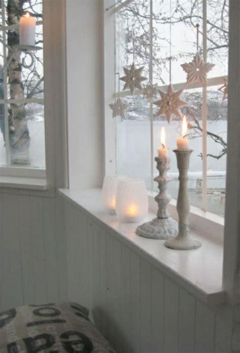 kerzenst nder wei kreative ideen f 252 r eine festliche fensterdeko zu weihnachten