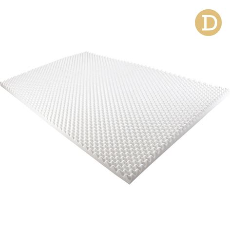 egg crate mattress topper deluxe egg crate mattress topper 5 cm underlay protector wholesales direct