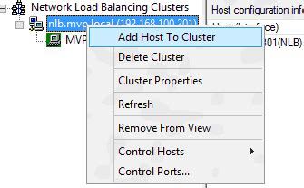 how to uninstall nlb windows 2012 clustering network load balancing nlb