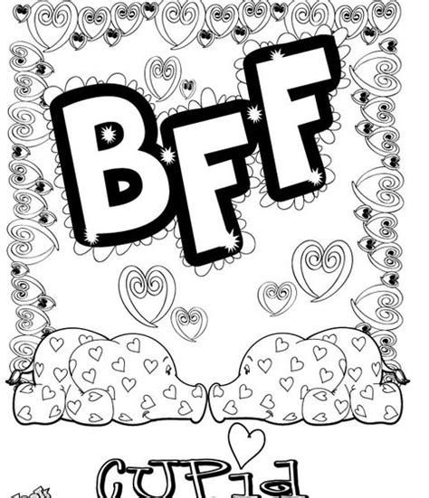anime coloring pages best friends coloring pages