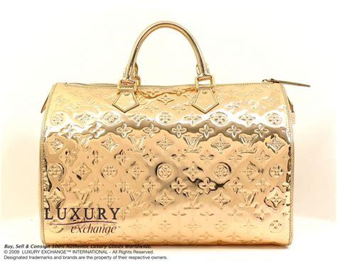 L Is Vuitton Gold authentic louis vuitton gold miroir mirror speedy 35 bag
