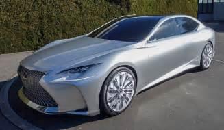Lexus Fc Lc Lexus Lf Fc In Silver