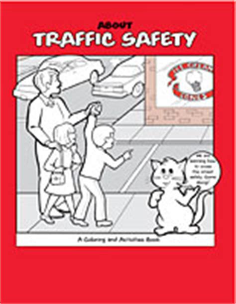 traffic safety a coloring activities book