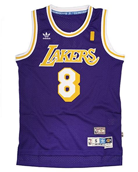 Jersey Basketball Lakers Original adidas s los angeles lakers nba bryant soul