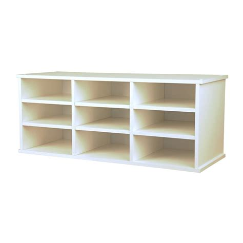 13 best images about top of bookcase shelves decorating on shop venture horizon white 9 shelf bookcase at lowes com