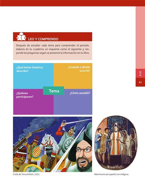 libro de la sep 4 grado historia libro de historia de cuarto grado de primaria 2016