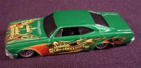 wwe eddie guerrero car hot wheels 1996 65 impala lowrider metalflake green with