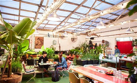 Backyard Greenhouse Winter Grub Food Van Fitzroy Review Concrete Playground Melbourne