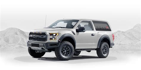 ford bronco designed  fan graphic artist creates