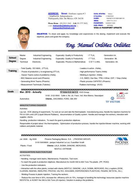 Modelos De Resume Moderno by Pleasant Modelos De Resume Moderno In Ejemplos De Resume
