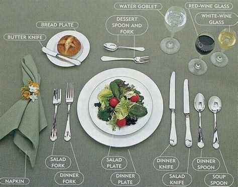 table cutlery set up zachowanie przy stole poznaj zasady savoir vivre u i