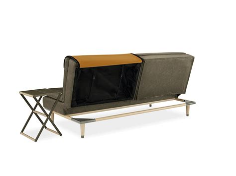 convertible sofa table a convertible sofa that hides a table design milk