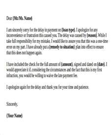 Apology Letter To For Late Of Project Apology Letter Exles