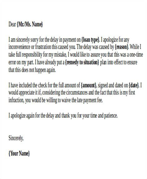 Business Apology Letter For Delay In Payment apology letter exles