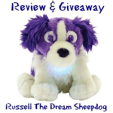 Dream Giveaway Review - russell the dream sheepdog review giveaway