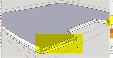 sketchup layout hidden geometry offset tool geometry issue sketchup sketchup community