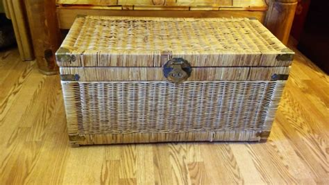 large wicker coffee table chest el paso 79927 309 celaya