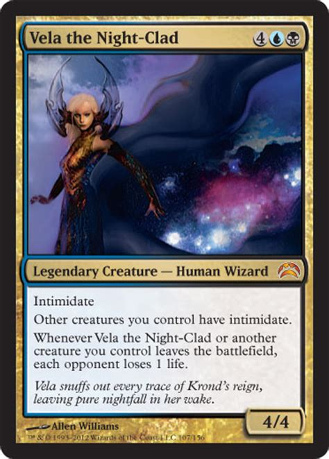 Mtg Dimir Mill Deck by Mtg Legendary Creatures Elspeth For The Win