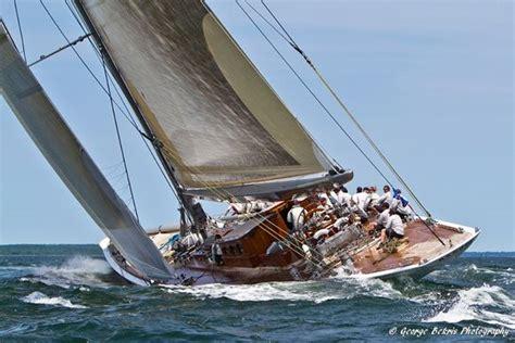 j class boats newport ranger wins the j class regatta newport 2011 challenge