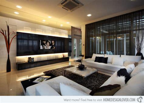 15 minimalist living room design ideas rilane modern tv lounge interior interiorhd bouvier