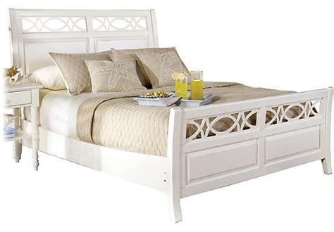 rooms to go sleigh bed shop for a home seaside white sleigh 3 pc bed at rooms to go find
