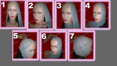 Pashmina Segiempat 9 gambar cara memakai kerudung cantik model terbaru dunia
