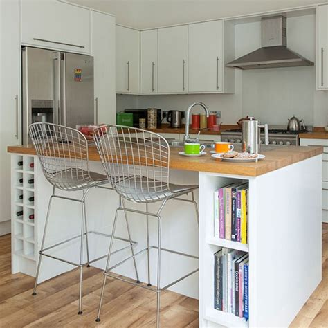 white kitchen island with breakfast bar white kitchen with breakfast bar decorating housetohome co uk